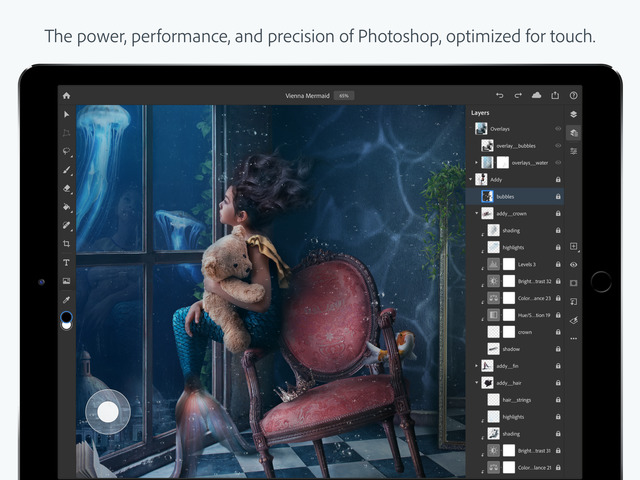 Adobe Photoshop llega al iPad