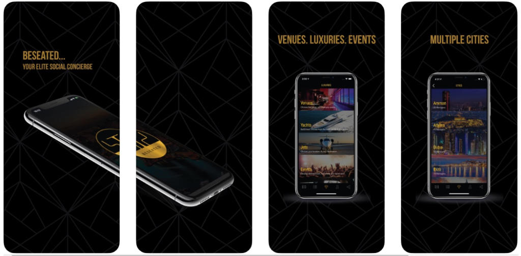 Si eres VIP esta app te permite pedir un yate, un jet privado, un alojamiento de lujo o un guardaespaldas