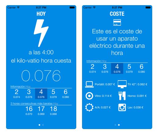 5 apps para controlar el consumo energético