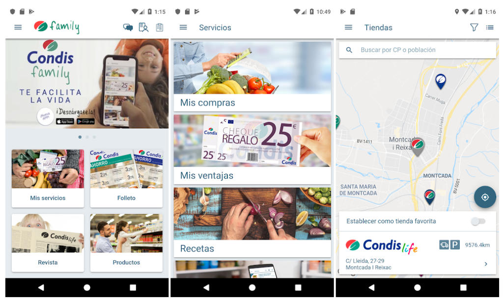 Condis lanza una app para conectar sus supermercados con el mundo digital