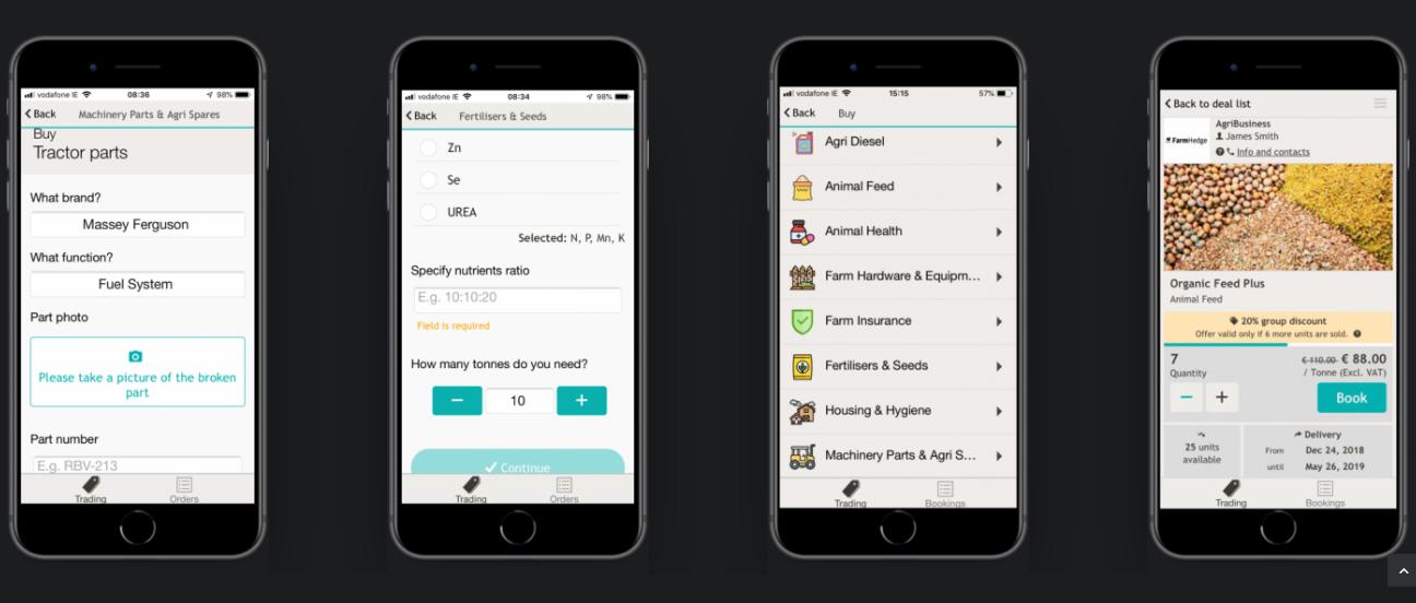 FarmHedge: Todo lo que un granjero busca (menos esposa) en una app
