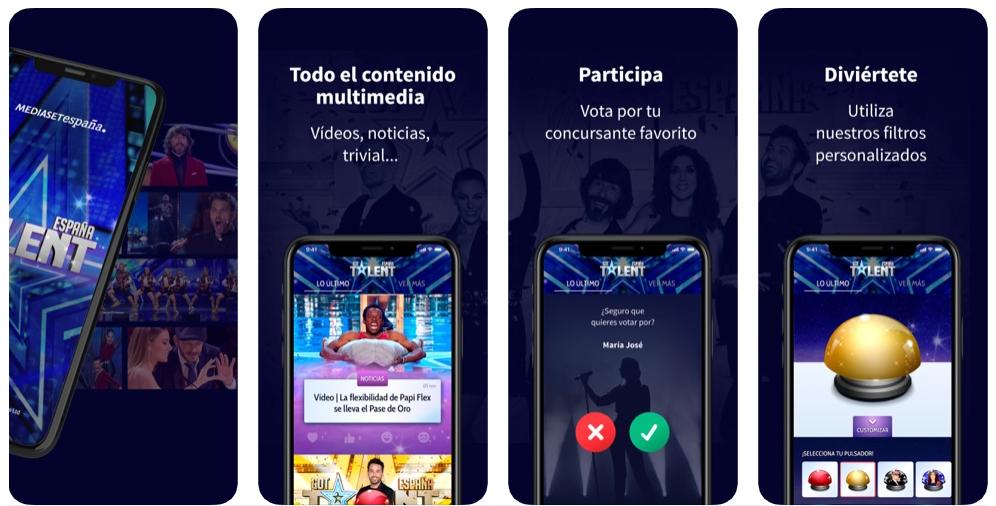 Got Talent lanza una app para que la audiencia vote durante las galas