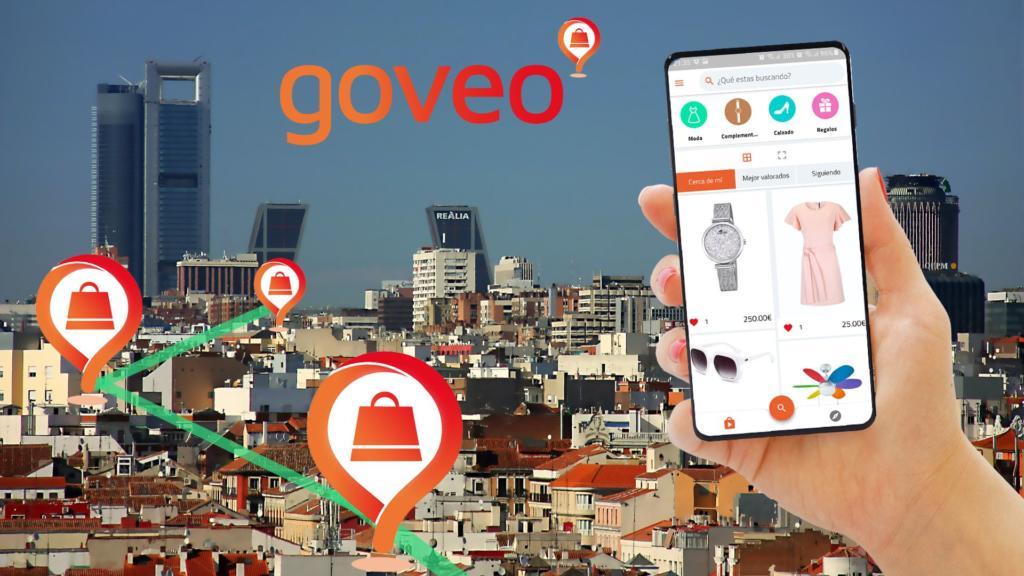 Goveo te permite conocer los artículos que venden las tiendas que hay a tu alrededor sin entrar en ellas