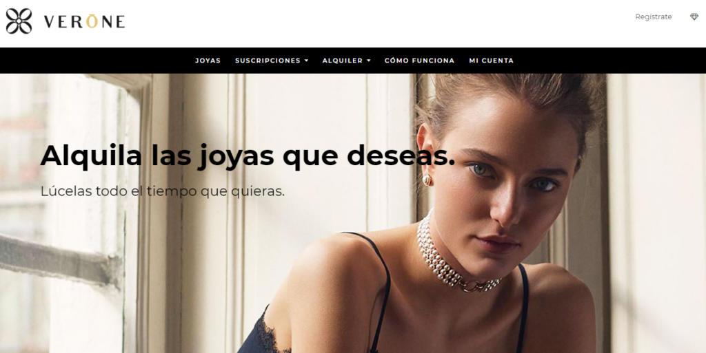 La startup de alquiler de joyas Verone levanta medio millón de euros de financiación