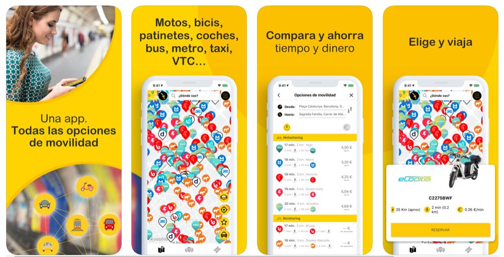 CityTrips, una app para dominarlas a todas (las formas de transporte)
