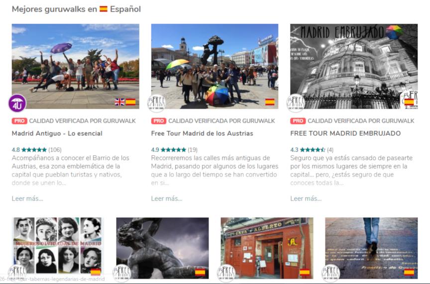 La startup de free tours GuruWalk obtiene 1 millón de euros de financiación