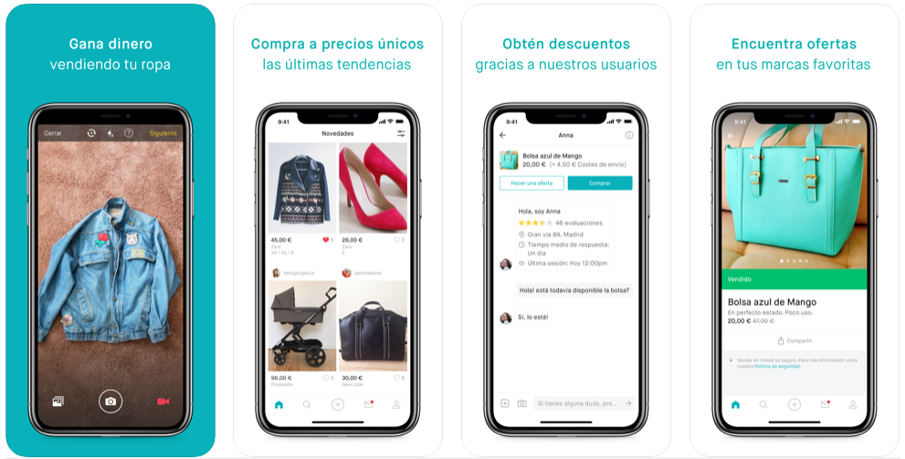 Vinted, Lidl Plus, Too Good To Go, Radios Spain y Moovit son las apps que más han crecido en 2019 en España
