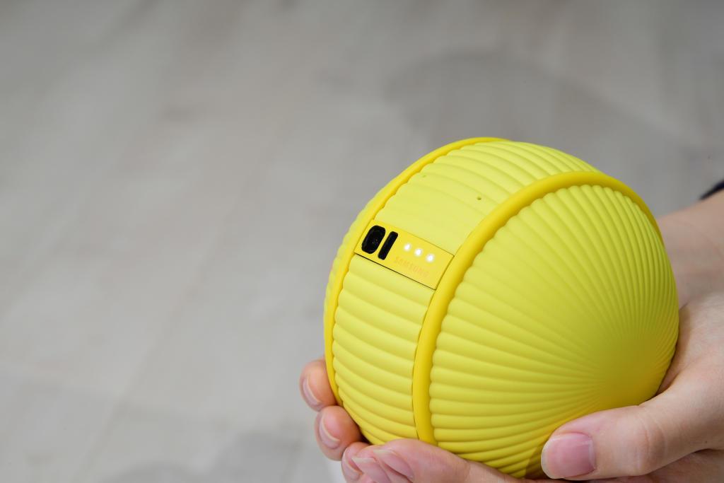 Samsung cree que los robots serán cuestión de pelotas: Así es Ballie