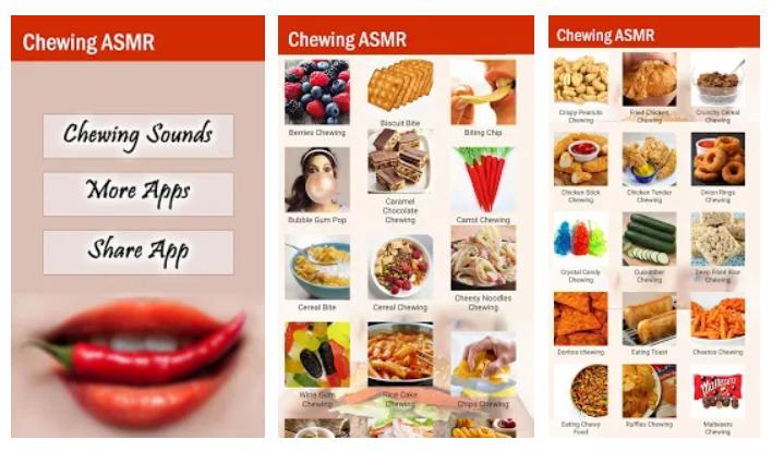 Chewing Sounds, una app para disfrutar la comida por el oído (ASMR)
