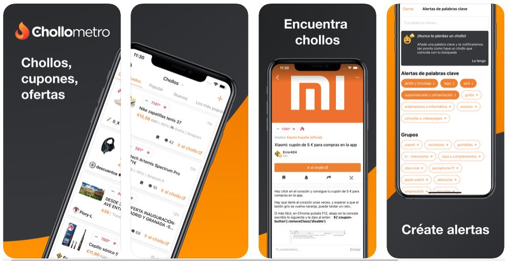 Encuentra las mejores ofertas y descuentos con la app de Chollometro