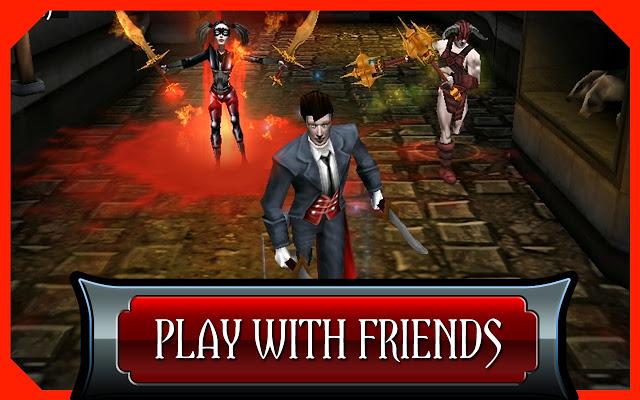 ¿Cómo son las apps y juegos móviles de vampiros?