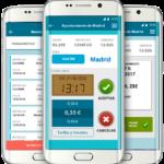 La app para pagar el estacionamiento regulado E-Park, adquirida por EasyPark Group