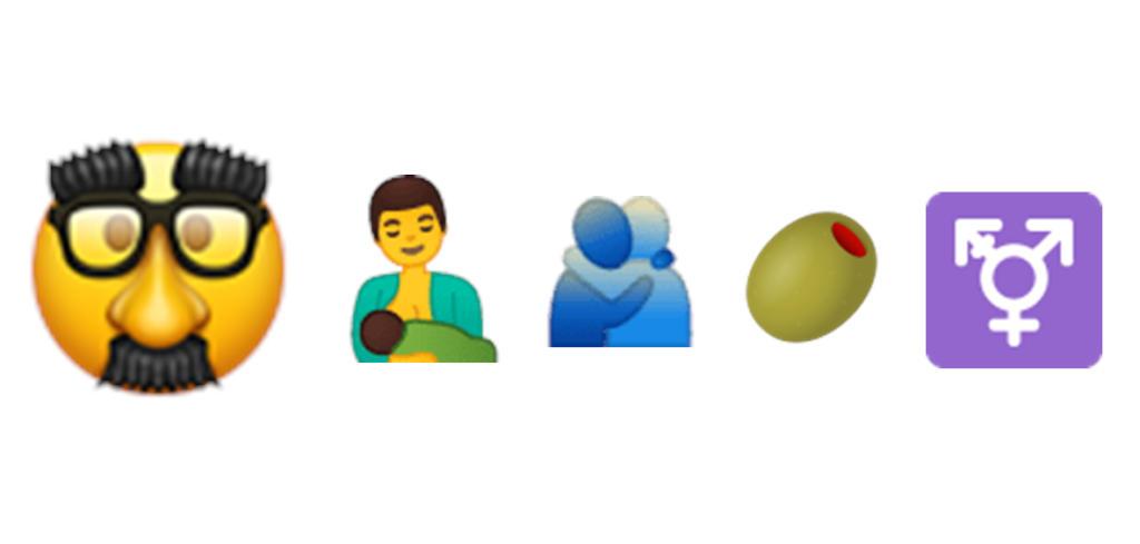 Las aceitunas, el símbolo trans y un abrazo, algunos de los nuevos emojis que podrás usar en WhatsApp