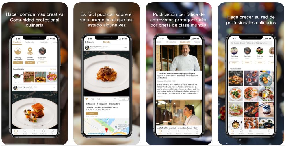 Foodion, el Instagram de los profesionales de la cocina