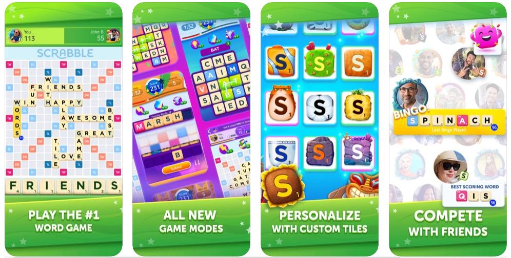 Hasbro y Scopely trabajarán juntos en un nuevo juego móvil: Scrabble GO