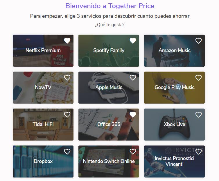 """Together Price: """"Educamos e instruimos a los usuarios a compartir del modo correcto una suscripción"""""""
