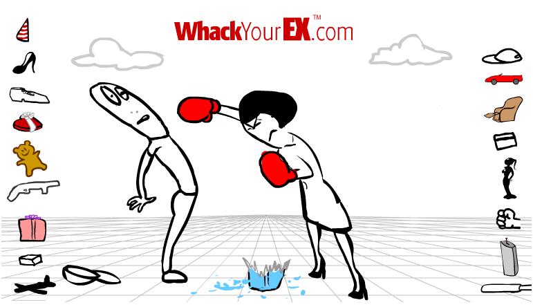 WhackYourEx, el juego para cantarle las cuarenta a tu ex pareja