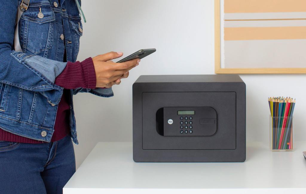 Esta caja fuerte vista en el CES se puede controlar por medio de una aplicación móvil
