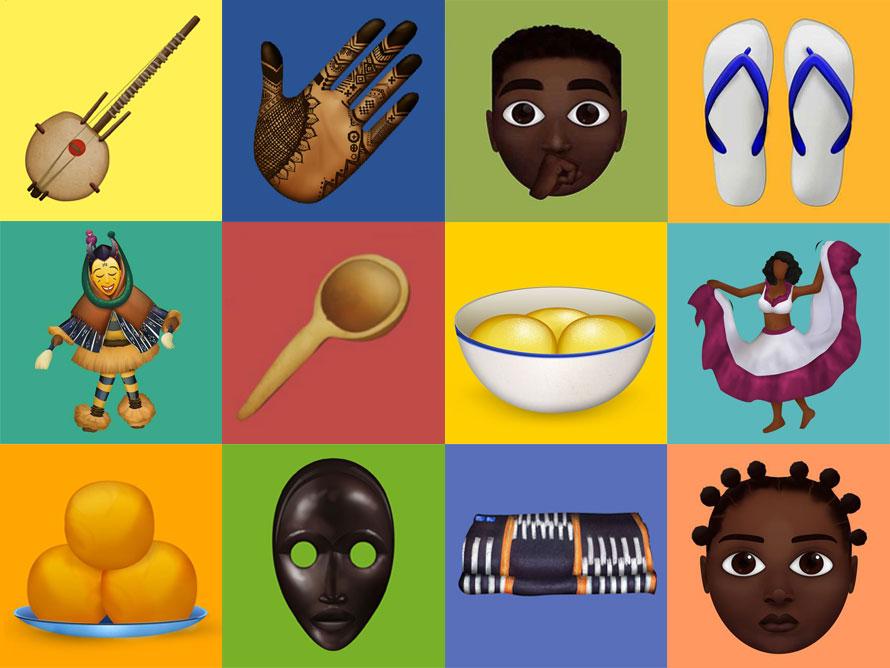 Estos emojis reflejan la riqueza y belleza de la cultura africana