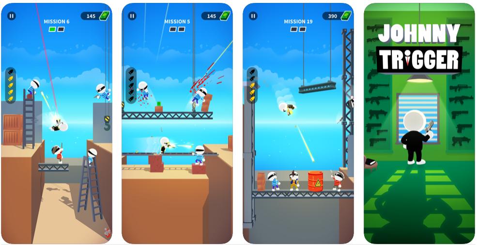 Johnny Trigger fue el juego móvil más descargado a nivel mundial en enero