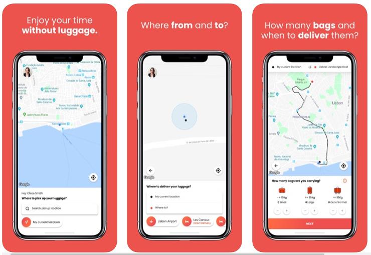 LUGGit, la app que se ocupa de tu equipaje hasta que hagas el check-in