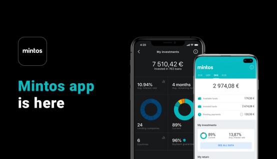 Mintos lanza una aplicación móvil para sus inversores