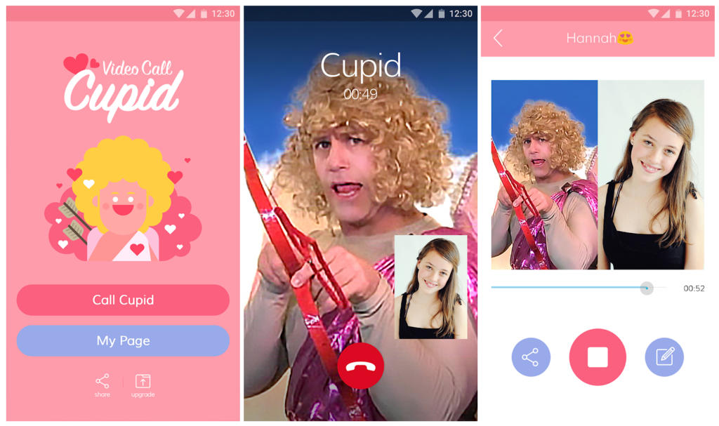 San Valentín: Con esta app puedes tener una videollamada con Cupido