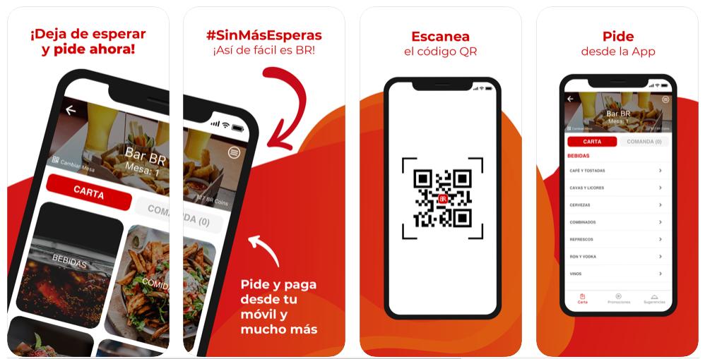 La app BR Bars & Restaurants potencia el servicio de delivery ante la cuarentena