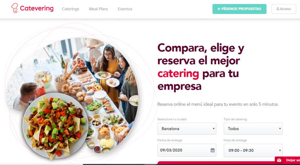 Catevering, la startup para comparar caterings, consigue medio millón de euros de financiación