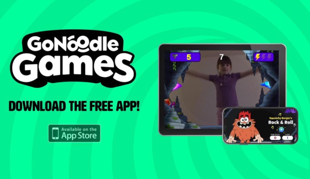 GoNoodle Games, un juego móvil para que los más pequeños se muevan en casa