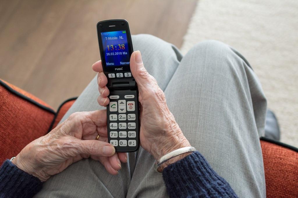 Esta iniciativa te permite acompañar a los mayores mediante videollamadas