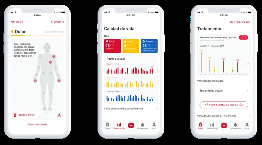 La aplicación para pacientes con la enfermedad de Gaucher myLSDapp, ya disponible en español