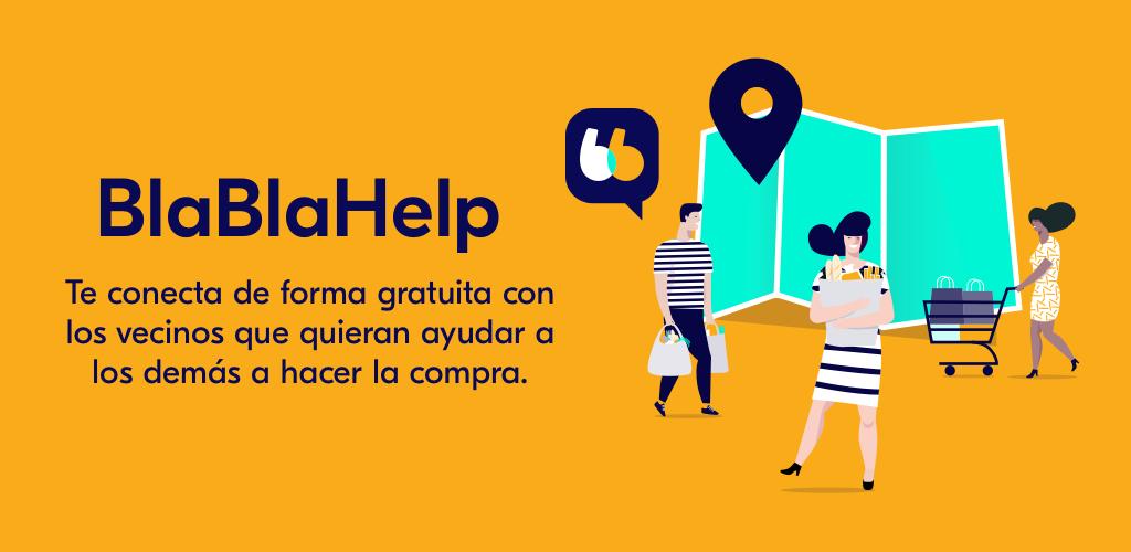 BlaBlacar lanza BlaBlaHelp, una app para hacer la compra a quien lo necesite
