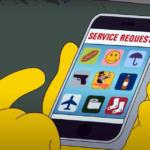 El episodio de Los Simpson donde Homer descubre una app para que le hagan todo