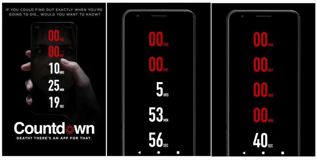 Countdown, la app que te dice cuánto te queda de vida como en la película