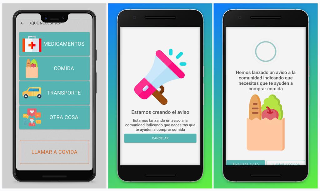 Covida, la app para ofrecer ayuda a los mayores durante la cuarentena