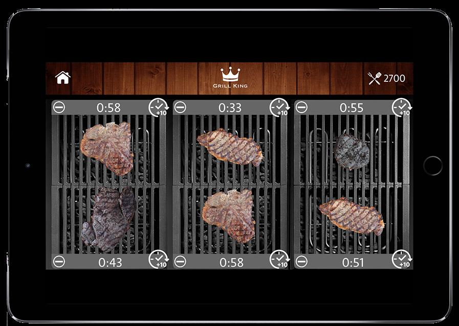 Grill King, la app para conseguir una barbacoa perfecta en tu terraza o jardín