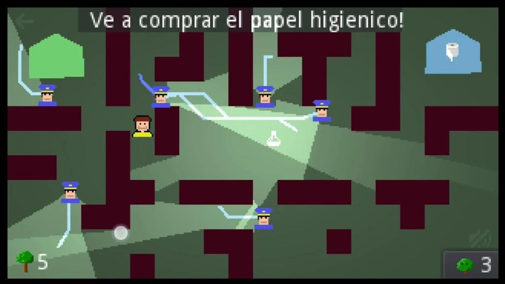 La Vita en Cuarentena, un simpático juego móvil en el que debes escapar de la policía