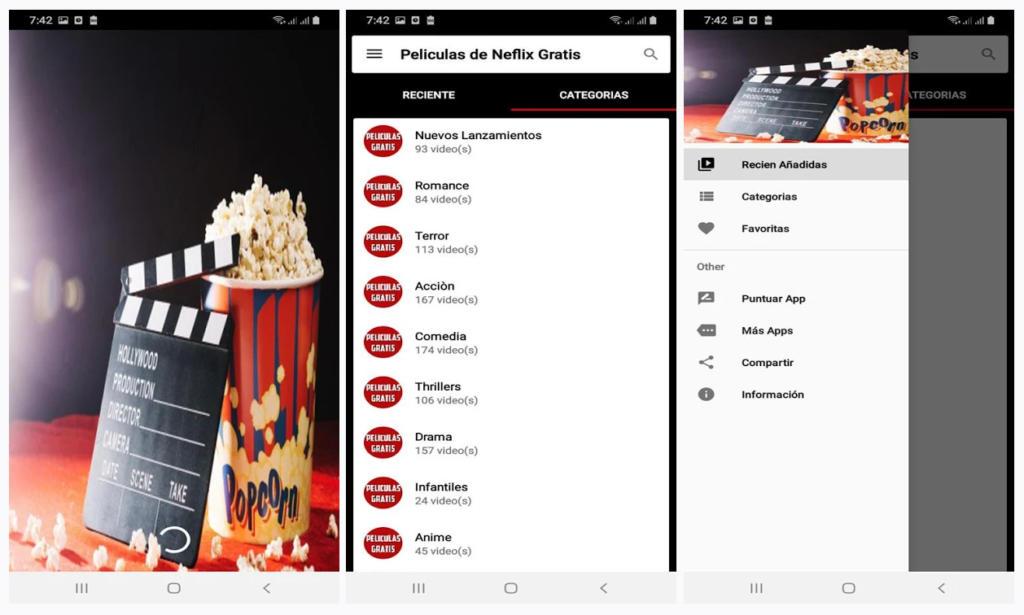 Películas de Netflix gratis en esta app de dudosa legalidad