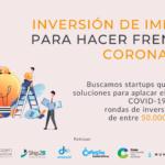 Se buscan startups que luchen contra el coronavirus