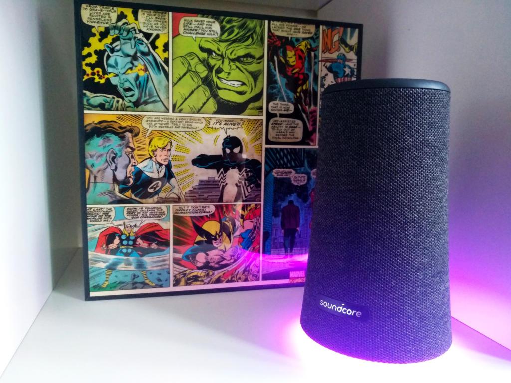 Anker Flare+, un potente altavoz Bluetooth de sonido 360 para montarte la fiesta en casa