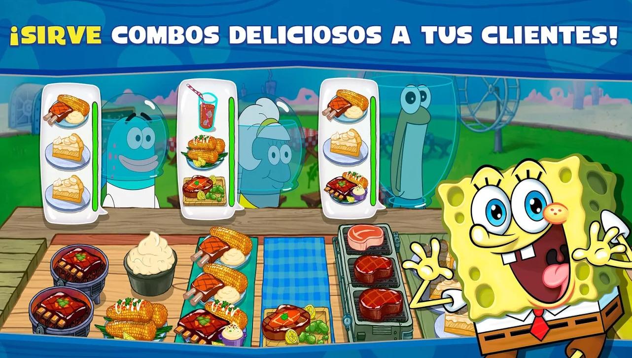 SpongeBob: Krusty Cook-Off, el juego donde Bob Esponja se hace cocinillas, ya está disponible
