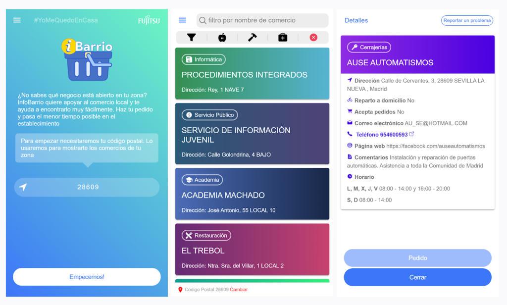 iBarrio, una nueva app de proximidad para conectar vecinos con comercios locales