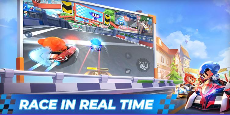 Llega KartRider Rush+, la alternativa a Mario Kart Tour