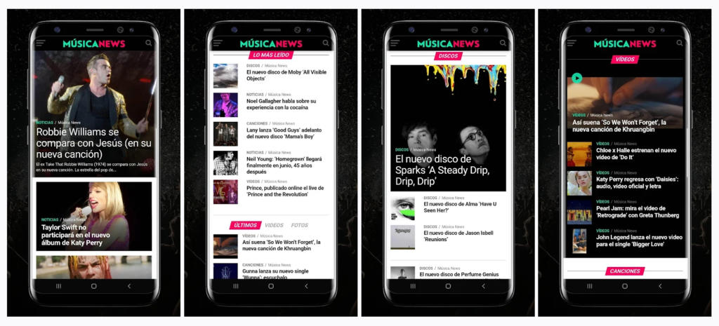 Música News, una nueva app para informarse sobre el mundo de la música