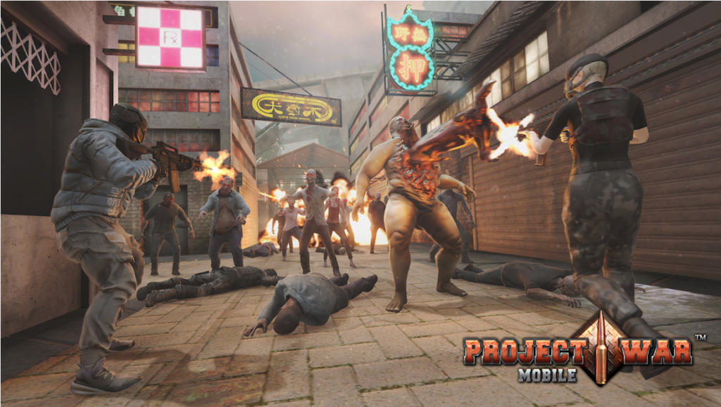 Project War Mobile, un espectacular juego donde un virus convierte a la humanidad en zombies