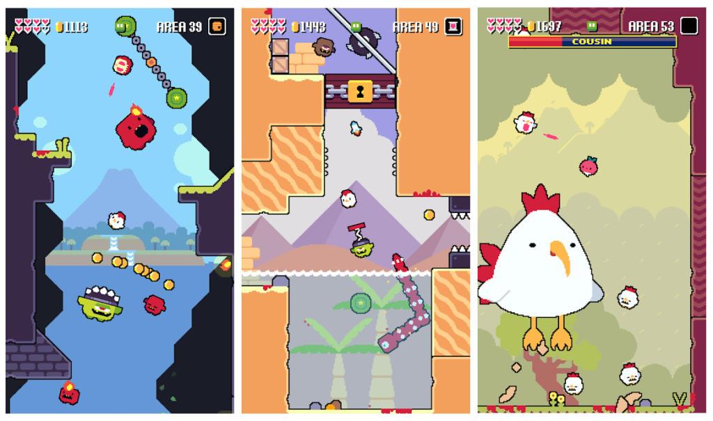 El pintoresco y pixelado Super Fowlst 2 llega a Android