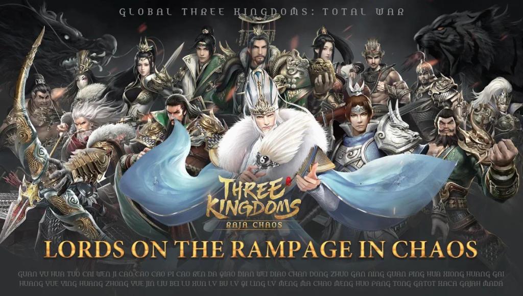 El juego Three Kingdom: Raja Chaos llega a iOS y Android