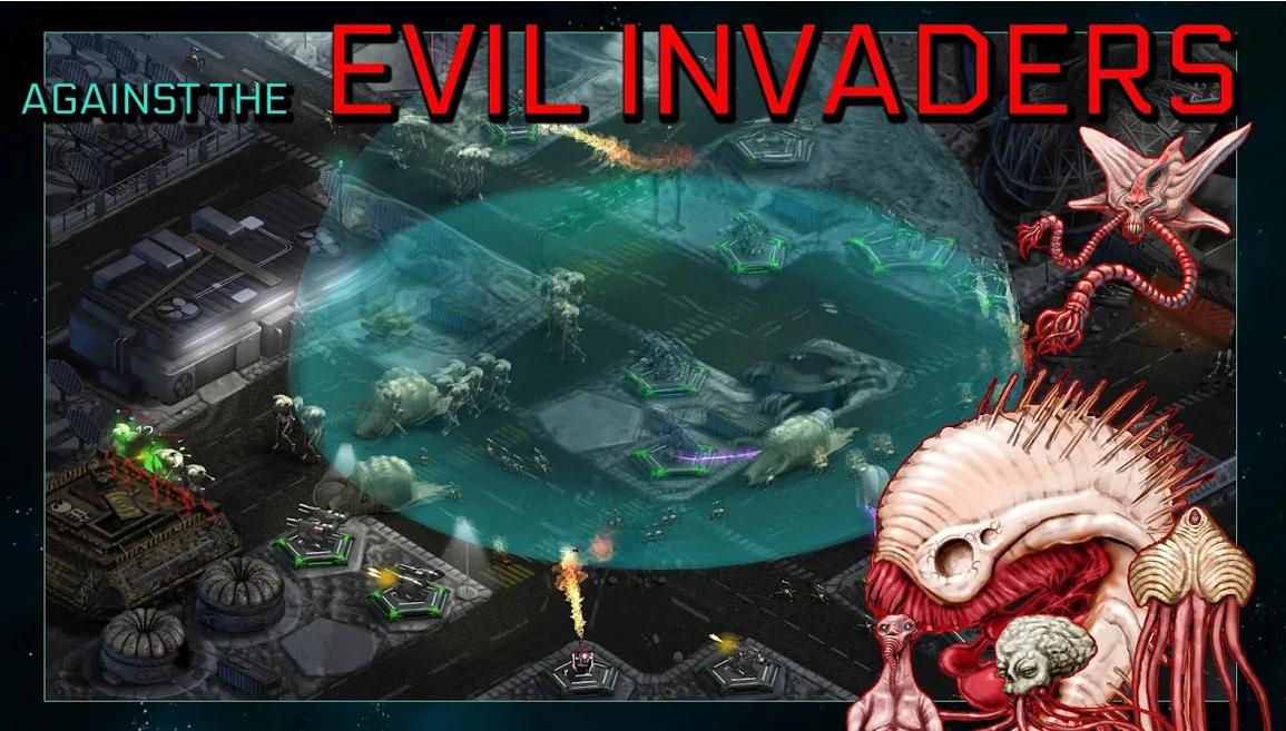 Construye torres de batalla y combate a los invasores con 2112TD