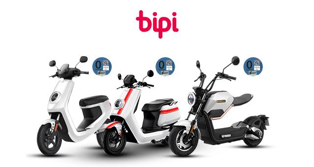 Bipi presenta una 'tarifa plana' de moto eléctrica desde 99 euros al mes
